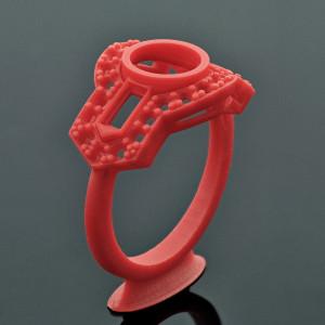 Vintage Ring - Jose Alfredo (GrabCad)